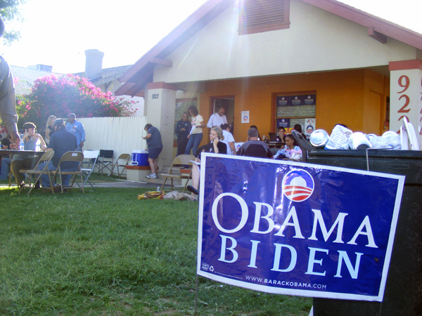 Obama's Democratic campaign headquarters, Phoenix AZ