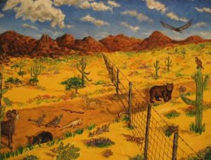 """""""People Can Make Fences"""" by Legarto"""